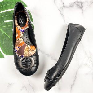 BOC Black Round Toe Comfort Dress Ballet Flats